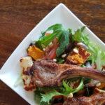 Lamb, Haloumi and Roasted Pumpkin salad