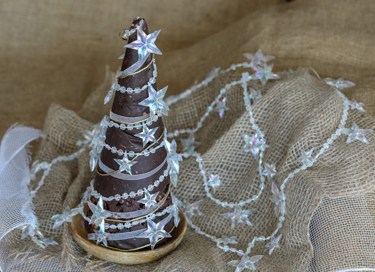 Low Carb Rocky Road Christmas Tree
