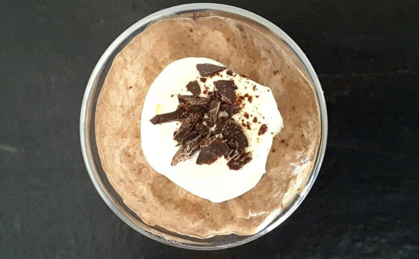 Low Carb Chocolate Mousse Chia Pudding