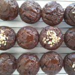 Low Carb Dark Chocolate Zucchini Muffins