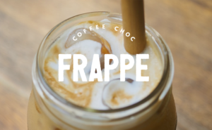 Low Carb Coffee Chocolate Protein Frappe