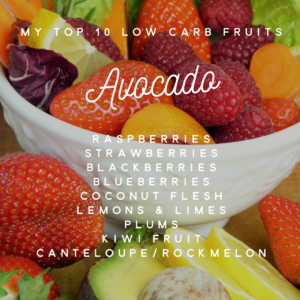 Fruit low in carbs