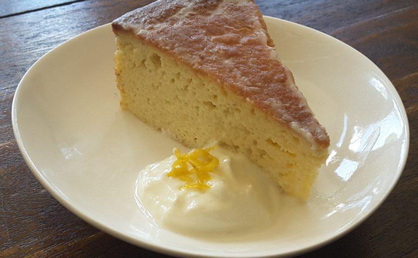 Low Carb Lemon Syrup Cake