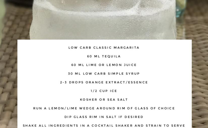 Low Carb Margarita Cocktail