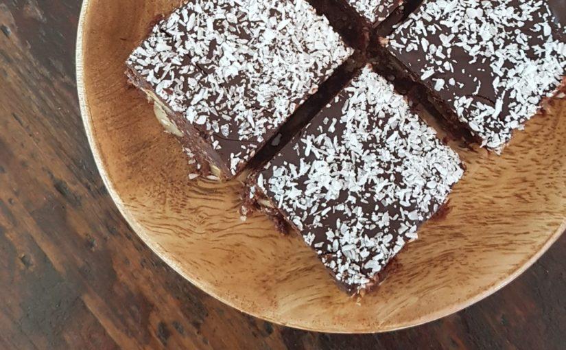 Sugar Free No Bake Chocolate Slice