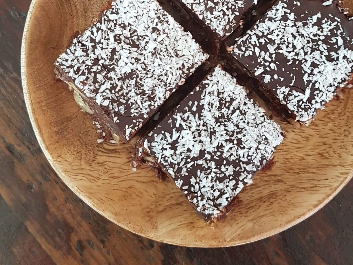 Sugar Free No Bake Chocolate Slice
