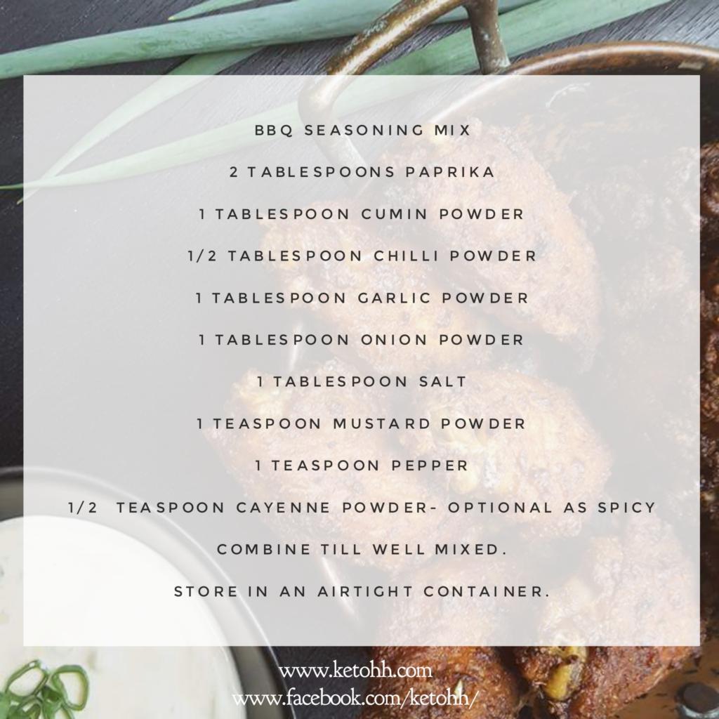 Low Carb BBQ Seasoning Mix