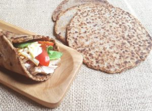 Low Carb Healthy Flat Bread Wrap
