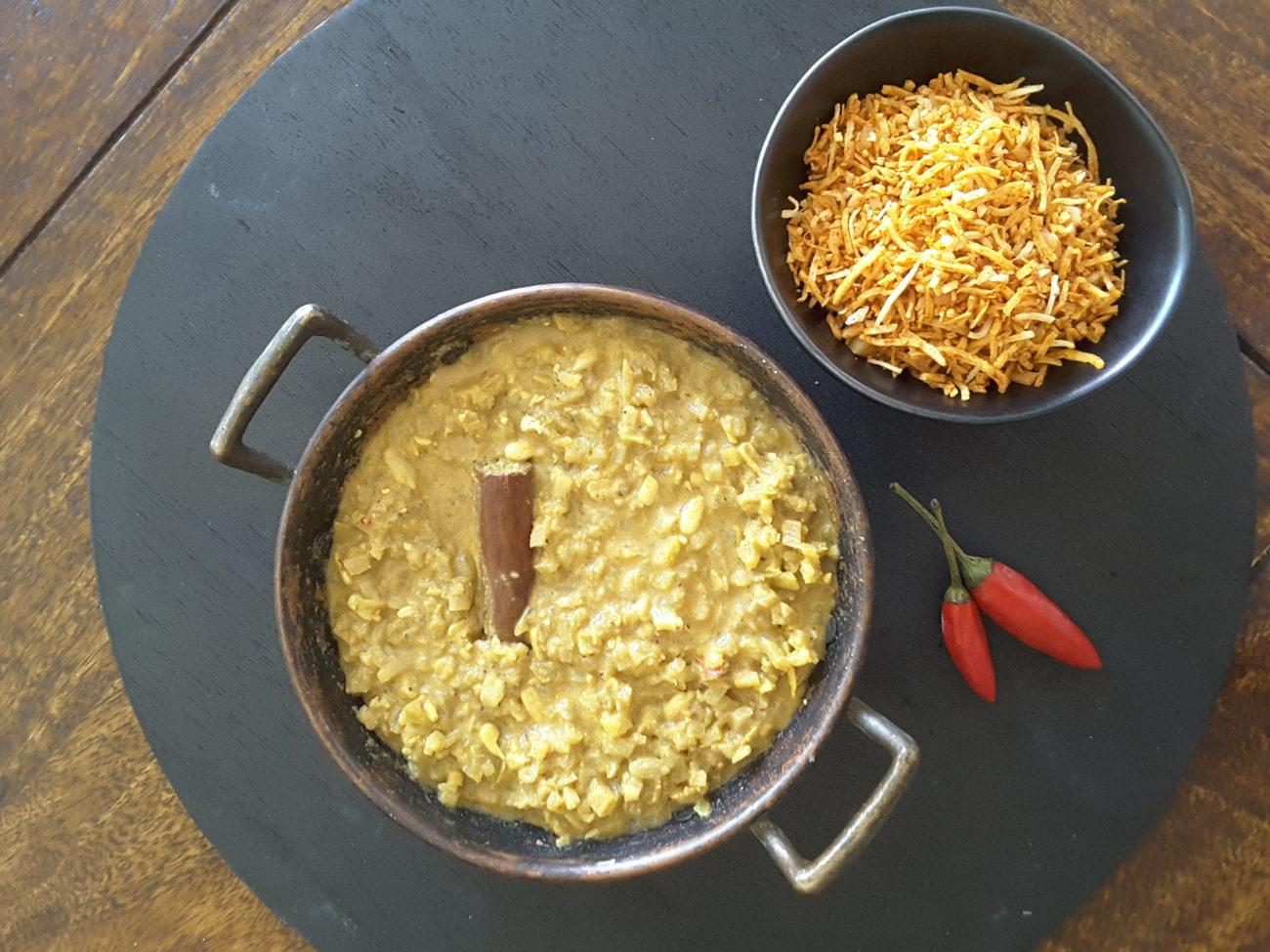 Low Carb Cauliflower and Broccoli Dahl