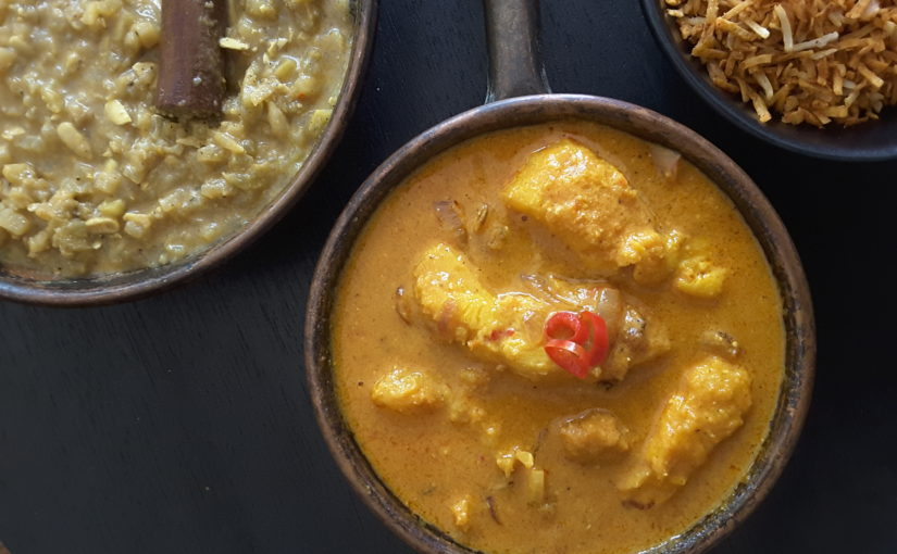 Low Carb Coconut Fish Curry