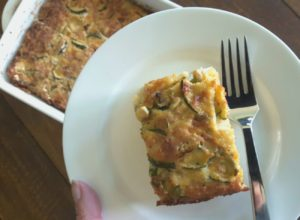 Low Carb Zucchini Slice