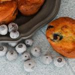 Sugar Free Blueberry Cream Cheese Muffins
