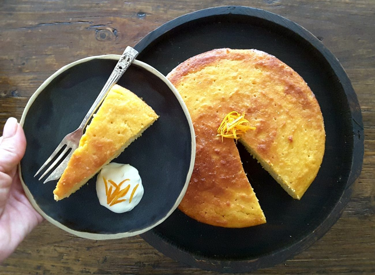 Sugar Free Mandarin Macadamia Cake