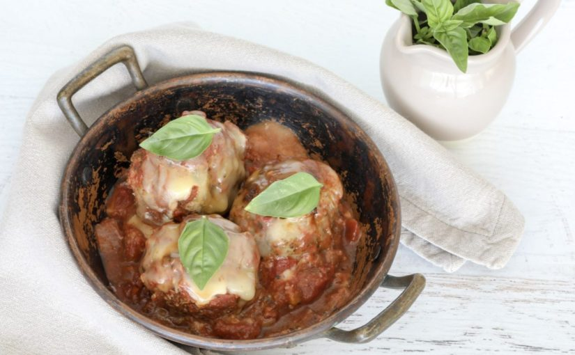 Low Carb Baked Italian Meatballs