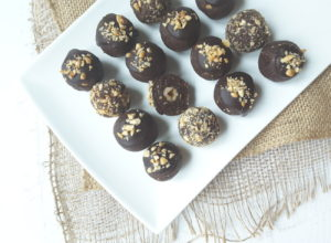 Low Carb Hazelnut Chocolate Bliss Balls
