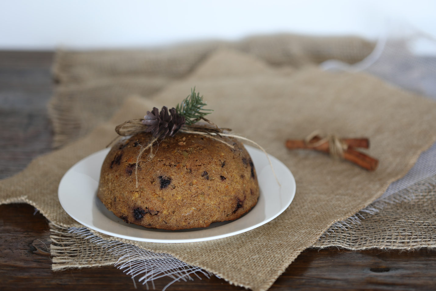 Low Carb Christmas Pudding