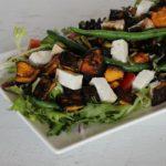 Pumpkin Bean and Feta Salad