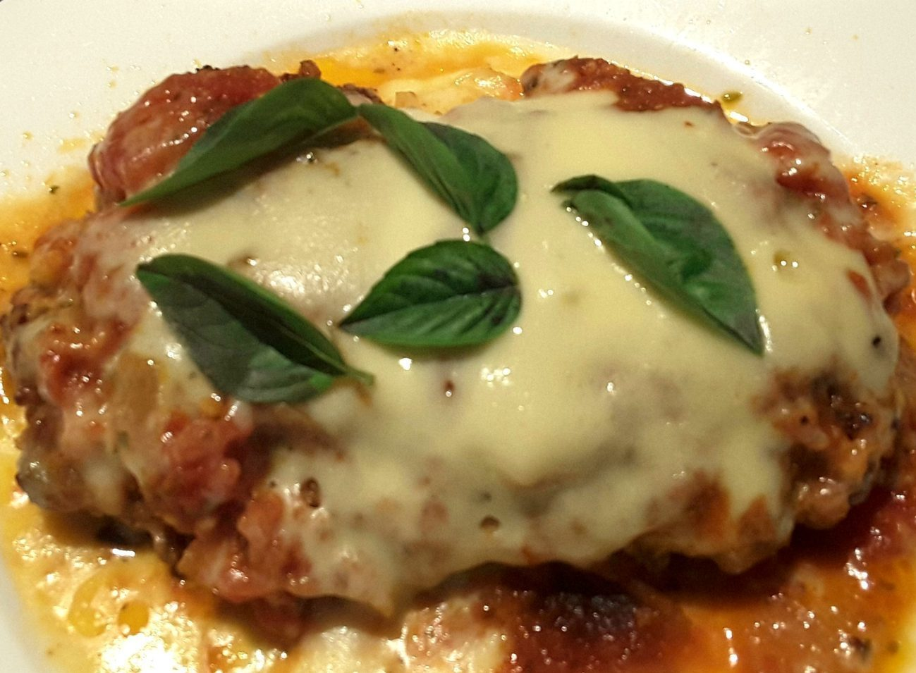 Low Carb Chicken Parmigiana