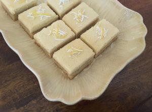 Sugar Free Lemon Coconut Bars