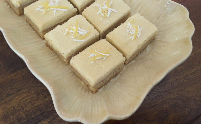 Sugar Free Lemon Coconut Bars