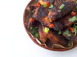 Sugar Free Siracha Chicken Wings