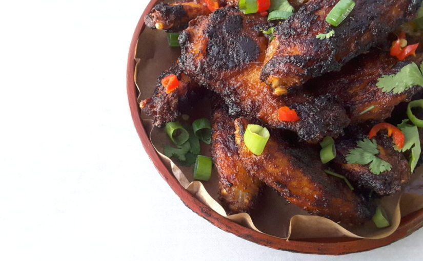 Sugar Free Siracha Chicken Wings