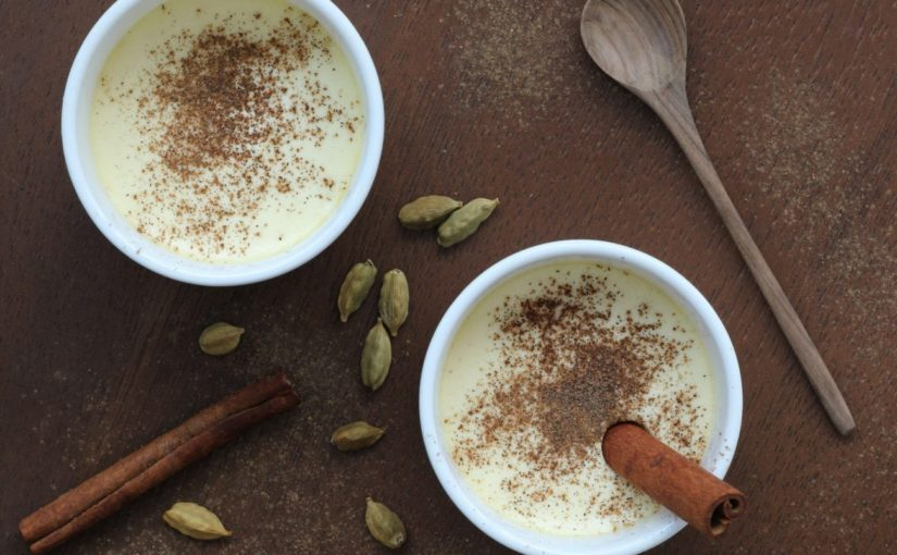 Low Carb Creamy No Rice Pudding