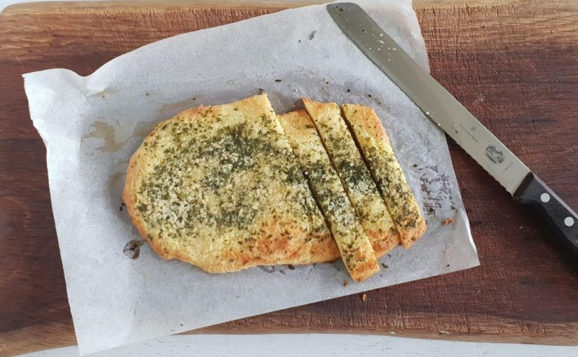 Low Carb Keto Garlic Bread