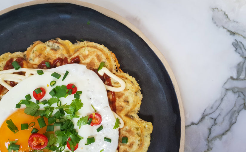Keto Chinese Breakfast Chaffle