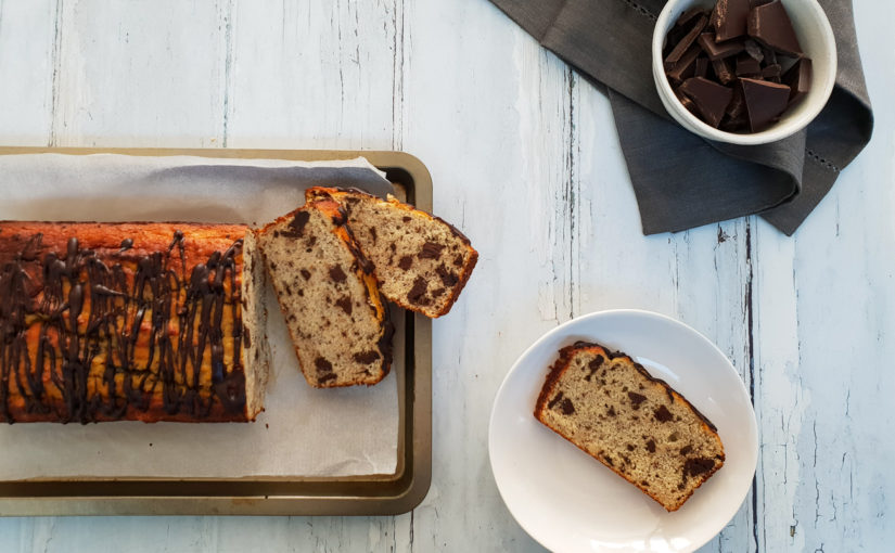 Low Carb Choc Chip Banana Bread