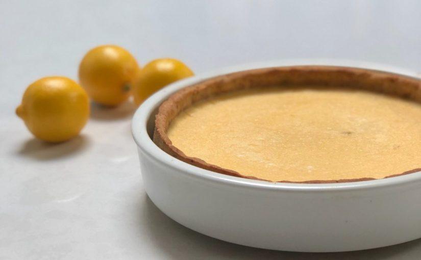 Low Carb Lemon Tart