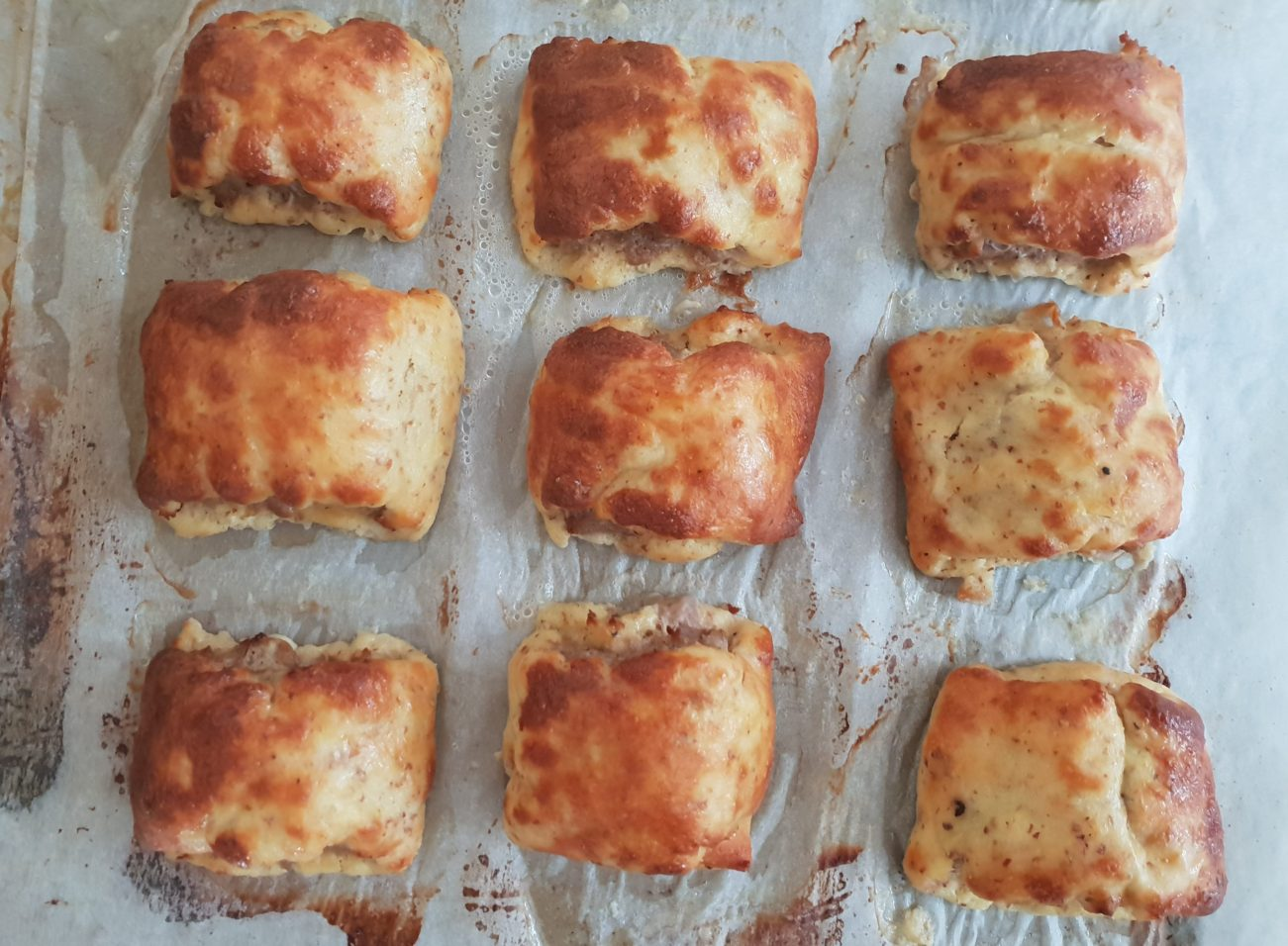 Low Carb Homemade Sausage Rolls