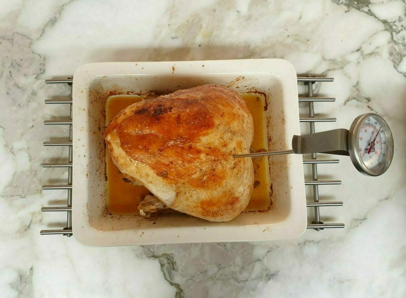 Low Carb Stuffed Roast Turkey