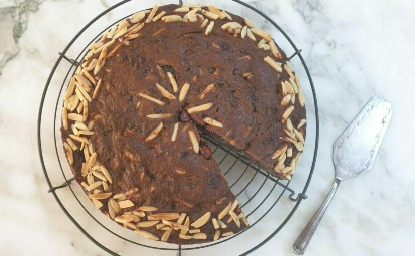Low Carb Christmas Cake