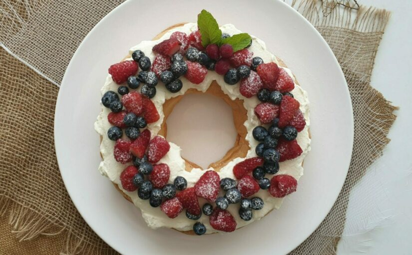 Low Carb Sugar Free Pavlova