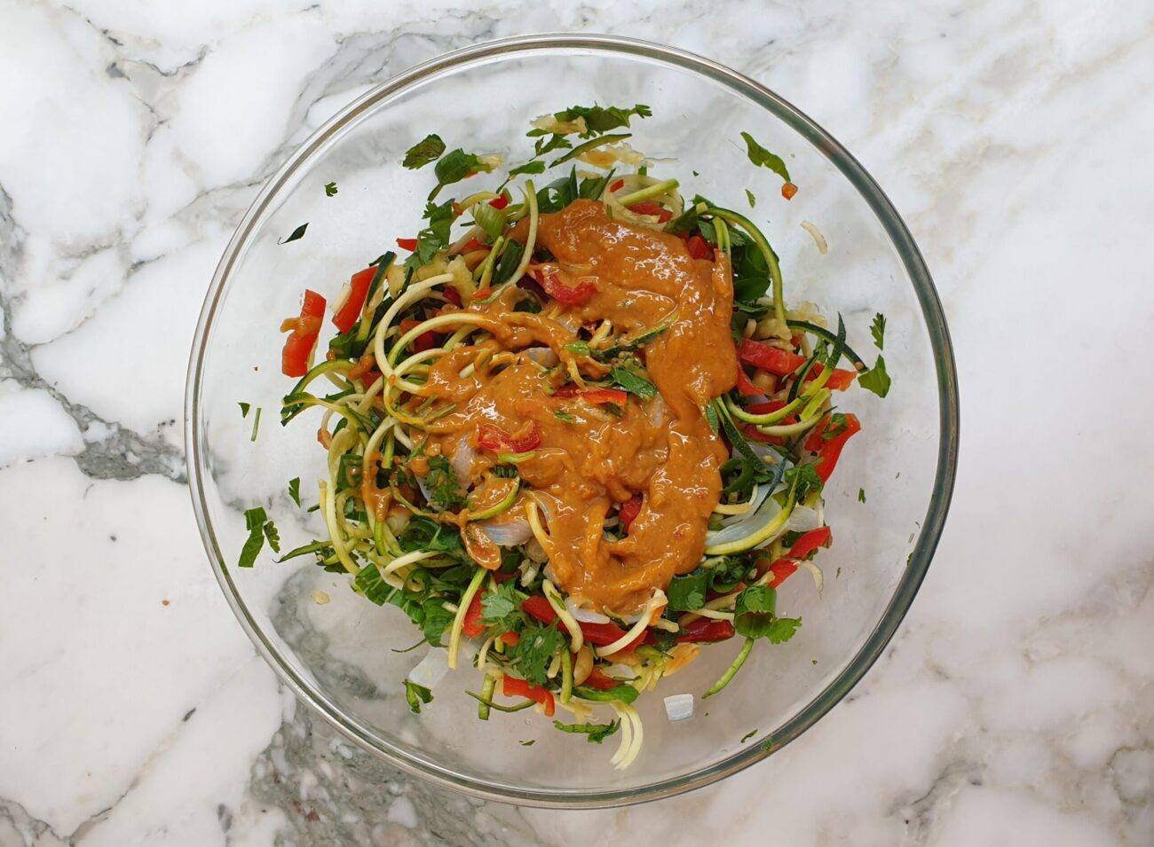 Pad Thai Zoodle Salad