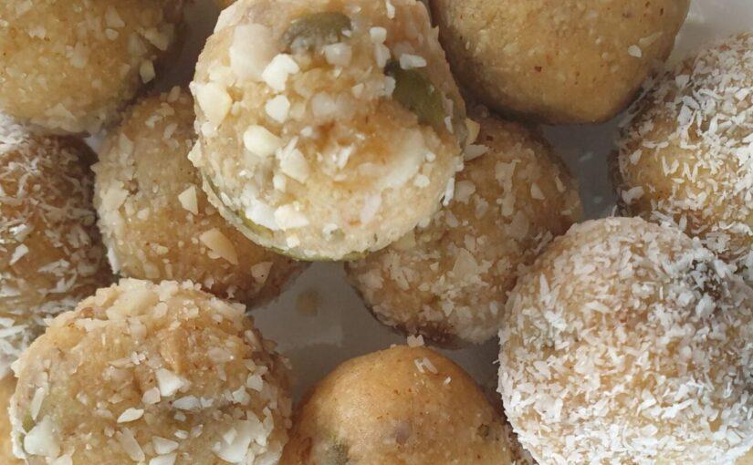 Keto Salted Caramel Bliss Balls