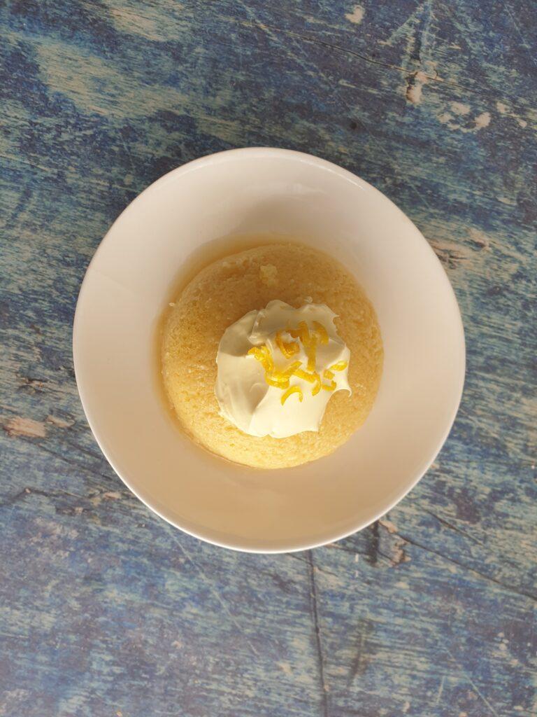 keto lemon mug cake (6) | KETohh