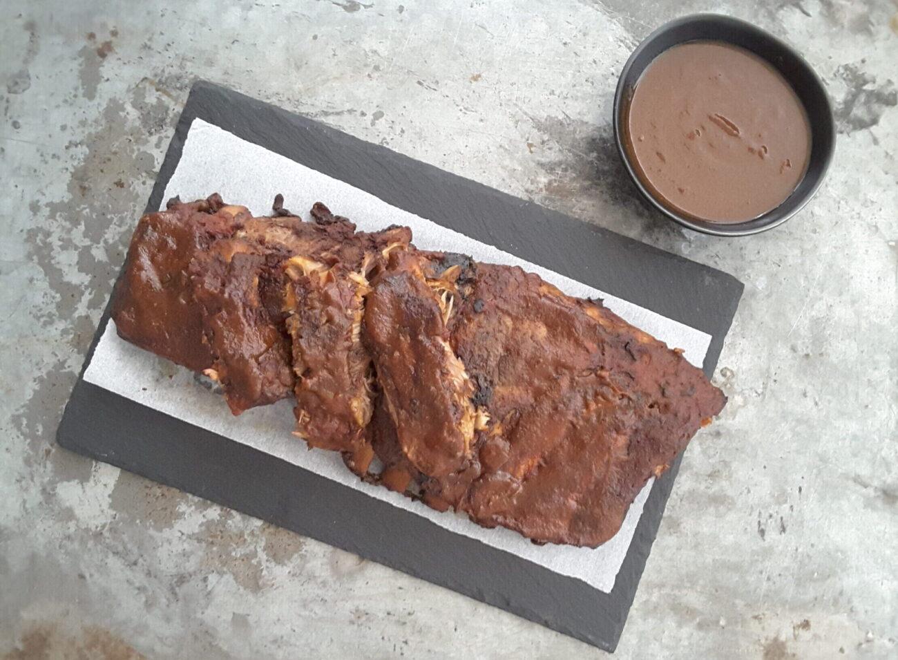 Sugar Free BBQ Pork Ribs