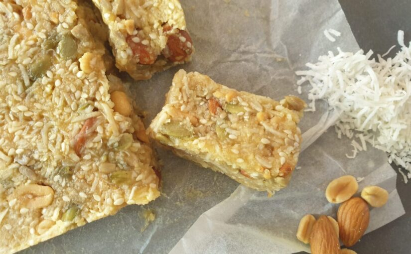 No Bake Keto Muesli Bars