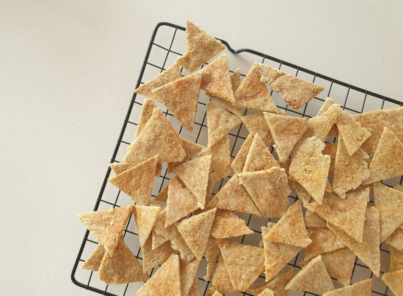 Keto Microwave Corn Chips