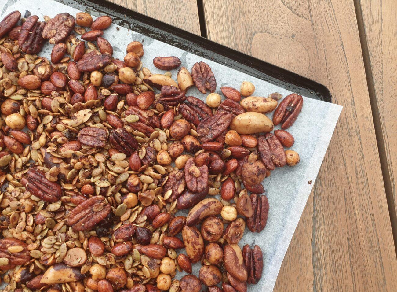 Sugar Free Spiced Nut Mix