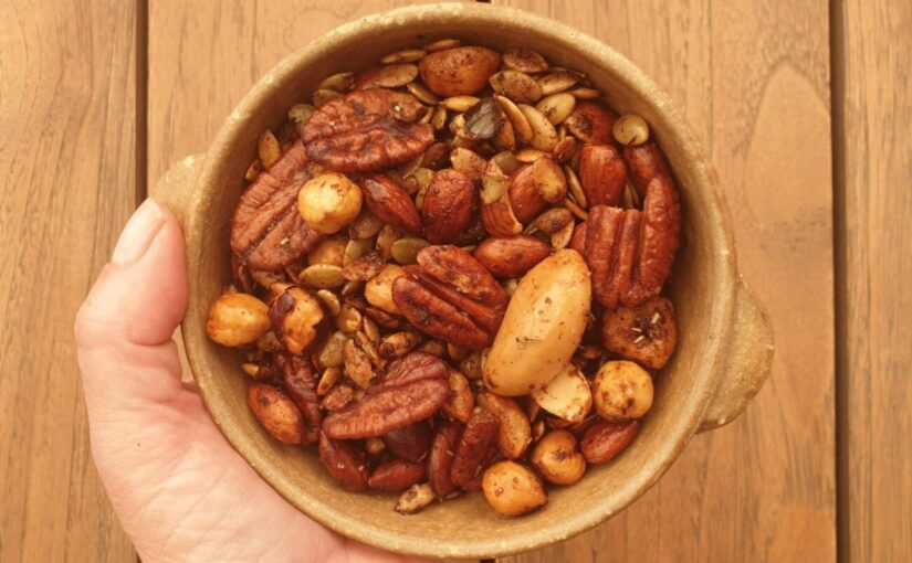 Sugar Free Spiced Nut Mix