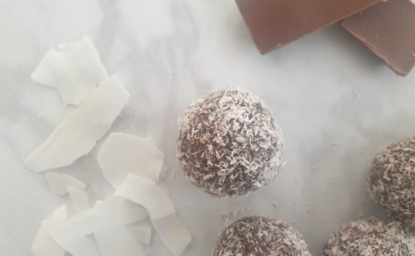 Keto Chocolate Coconut Bliss Balls