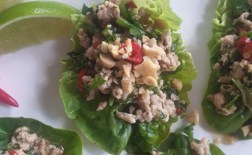 Low Carb Chicken Larb Gai