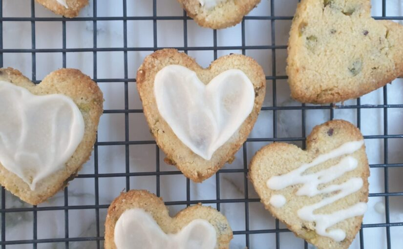 Keto Lemon Pistachio Cookies