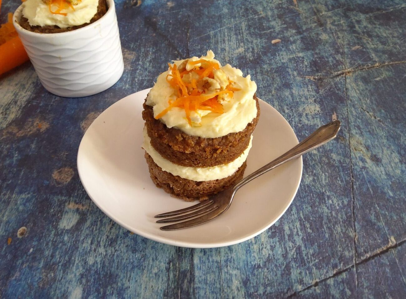 Sugar Free Carrot Mug Cake