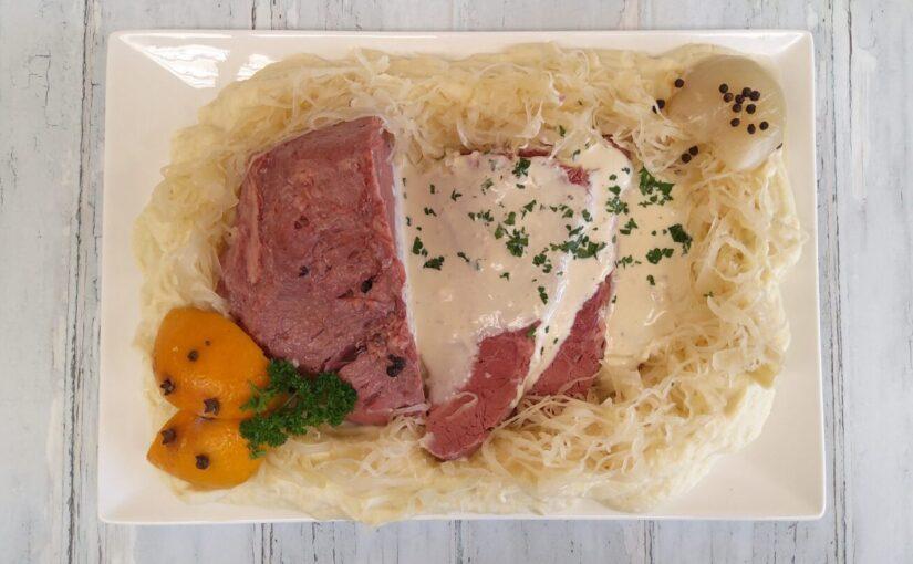 Keto Corned Beef Silverside