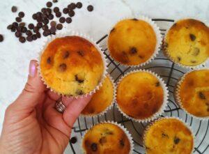 Keto Choc Chip Muffins