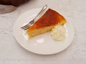 Keto Coconut Custard Impossible Pie